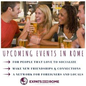 Upcoming events in Rome