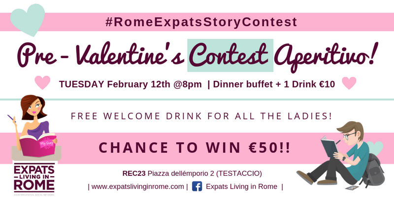 BLOG feature Contest Rome Italy february 2019 events