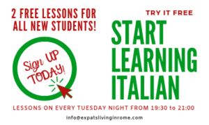 Italian lessons in Rome Italy affordable and flexible
