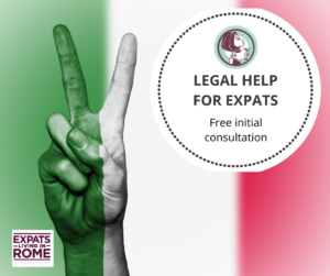 Legal help for expats in Italy